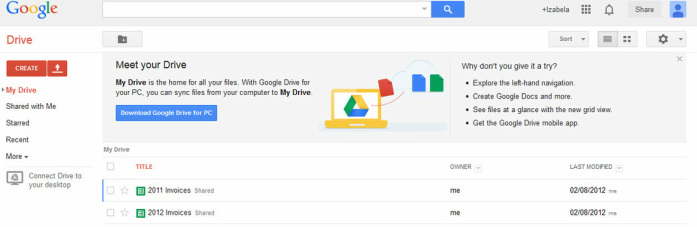 Learning Google Drive - Learning 2 0 Technologies
