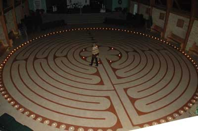 photograph relating to Finger Labyrinth Printable called Edmonton Labyrinth Lifestyle