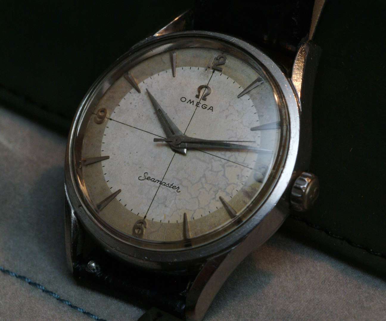 The watch that started it all a vintage omega seamaster for Omega watch vintage