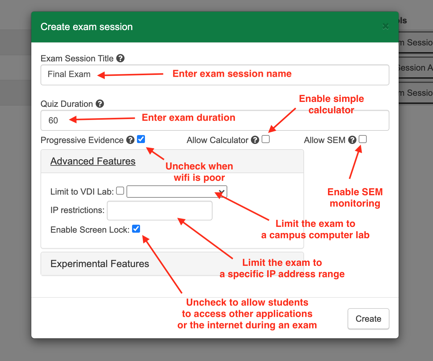 Managing Secure Exam Sessions Using ExamLock - Powered by Kayako