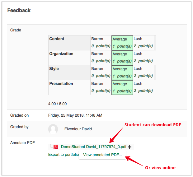Annotating Assignment Submissions - Powered by Kayako Help Desk Software