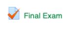 Final Exam link