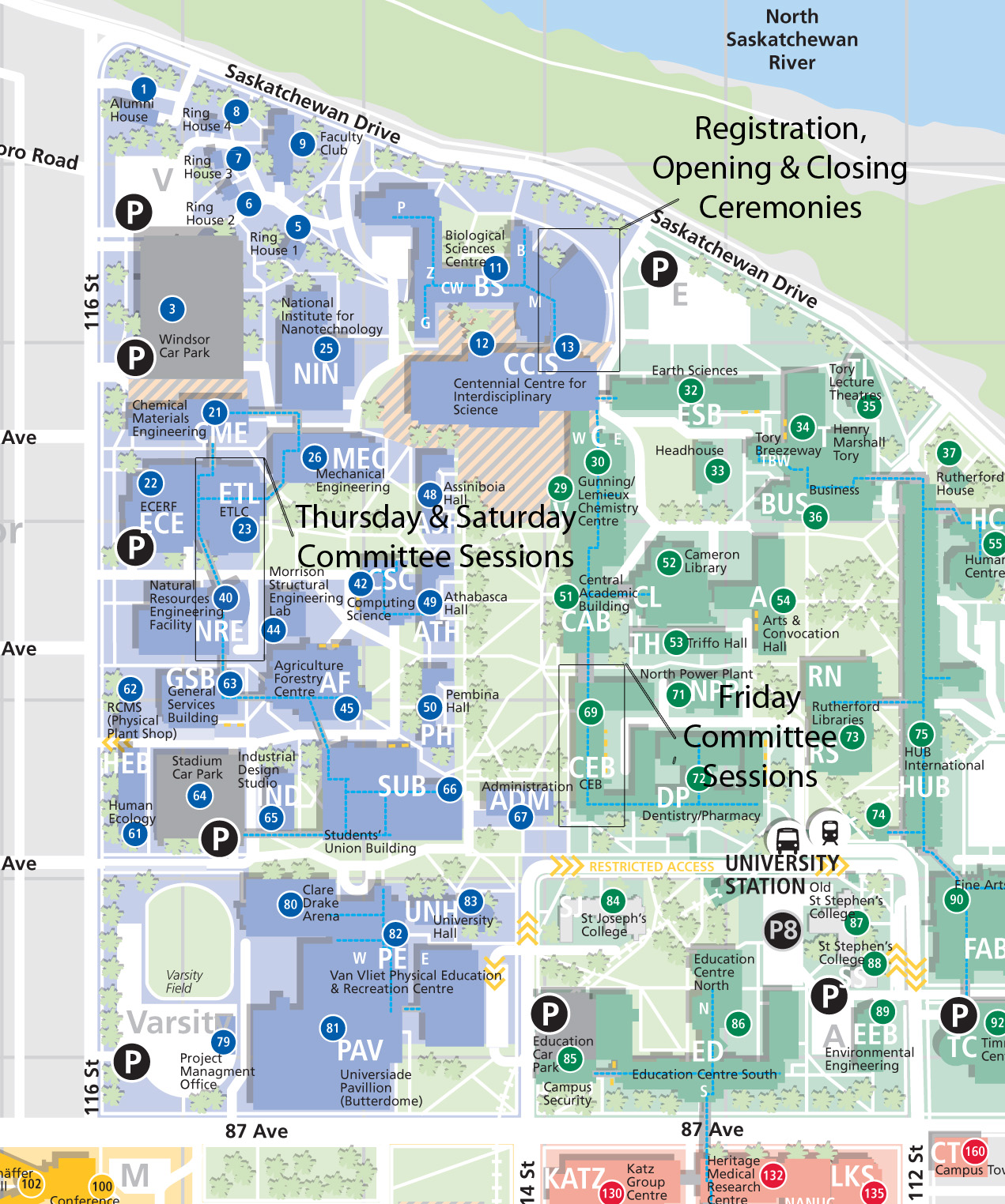 Uofa Map My Blog - U of a campus map