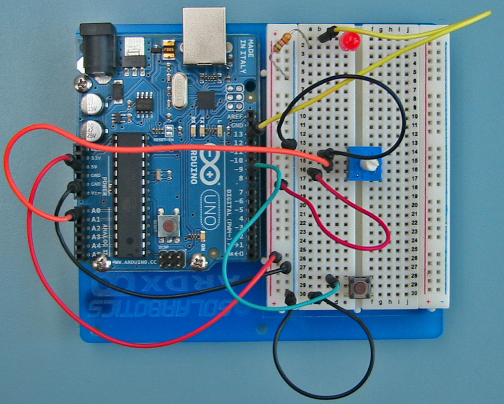 Arduino Intro Labs For Tangible Computing