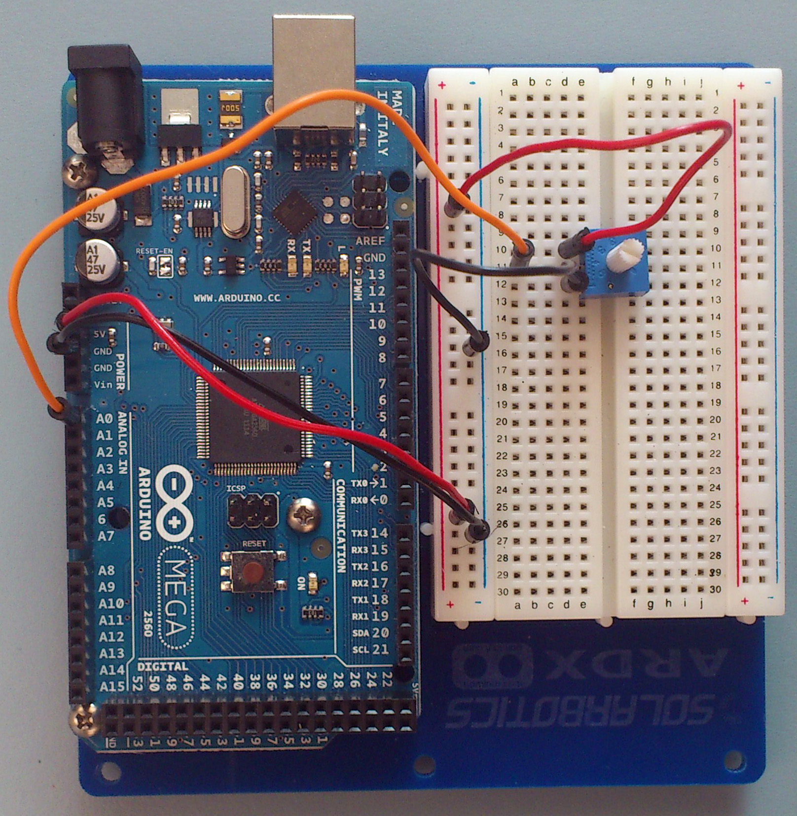 Arduino Intro Labs for Tangible Com - 8. Building Circuits on