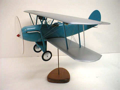 solid shop old time model airplane