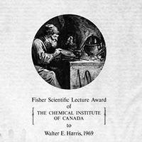Fisher Scientific Lecture Award of The Chemical Institute of Canada