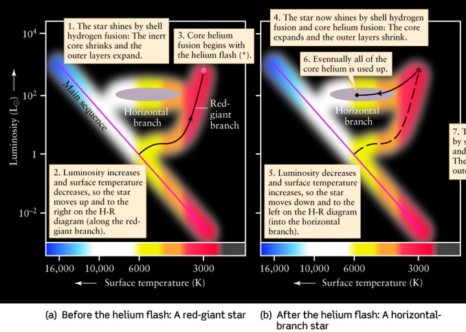 Lecture 17 evolution of low mass stars final stages of life of a low mass star ccuart Gallery